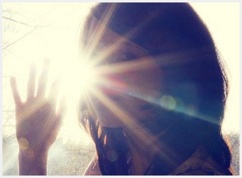 saluti nel sole